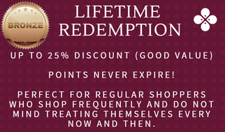 Lifetime-Redemption