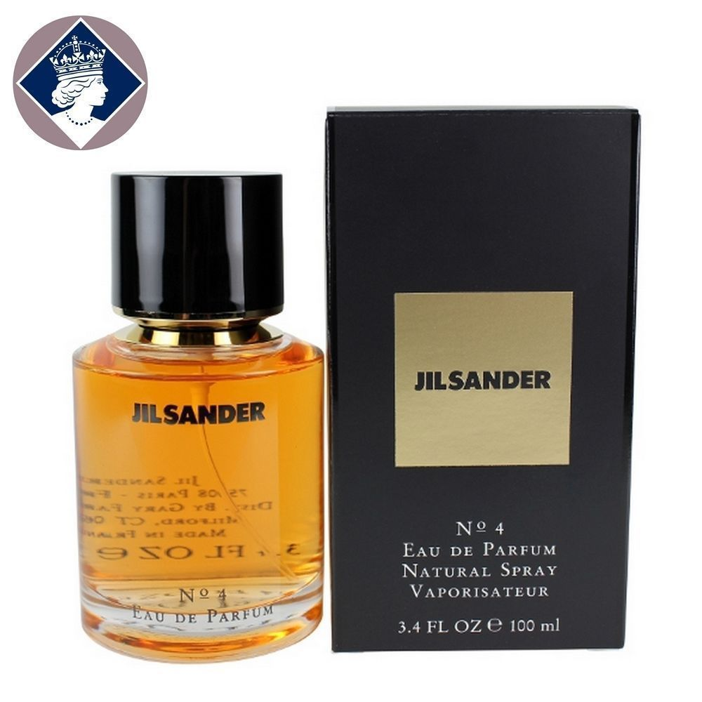 527971e9cf91ee Jil Sander No.4 Perfume 100ml/3.4oz Eau De Parfum Spray EDP Fragrance for  Women