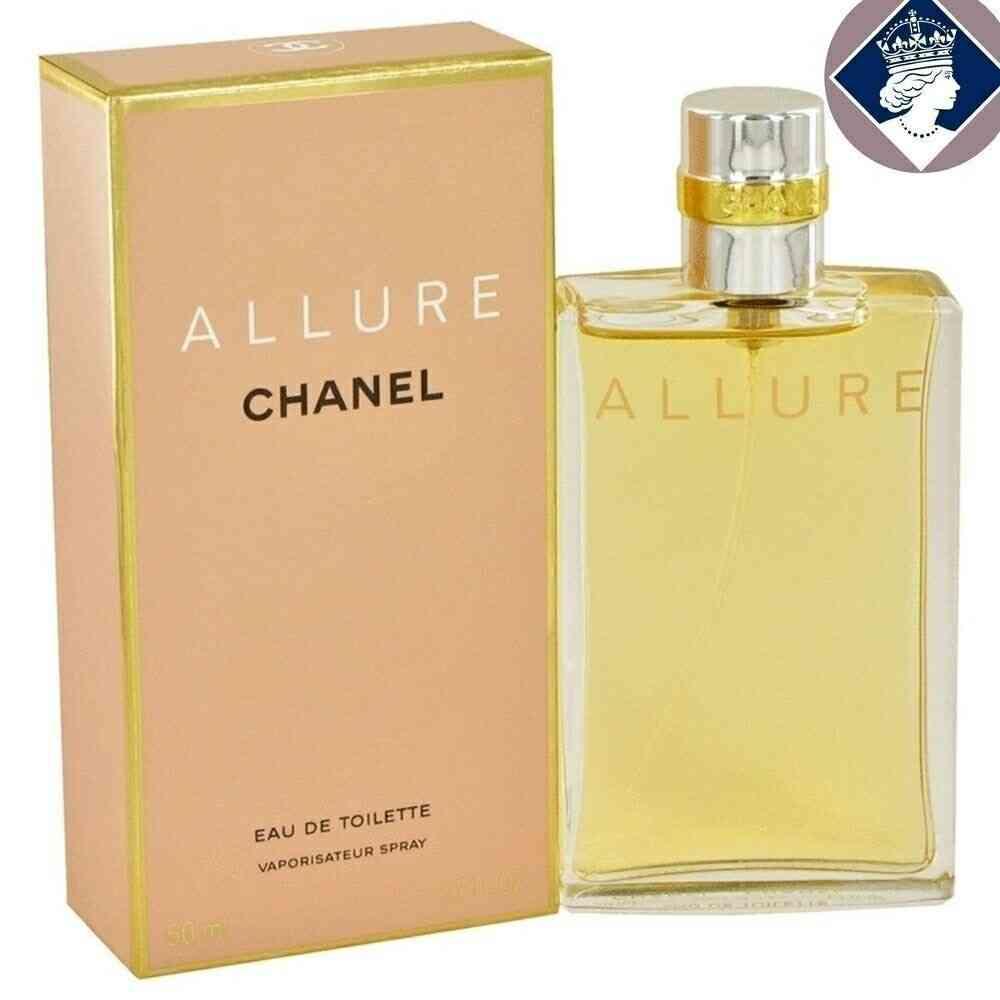 Chanel Allure Pour Femme 50ml Eau De Toilette Vaporisateur Parfum