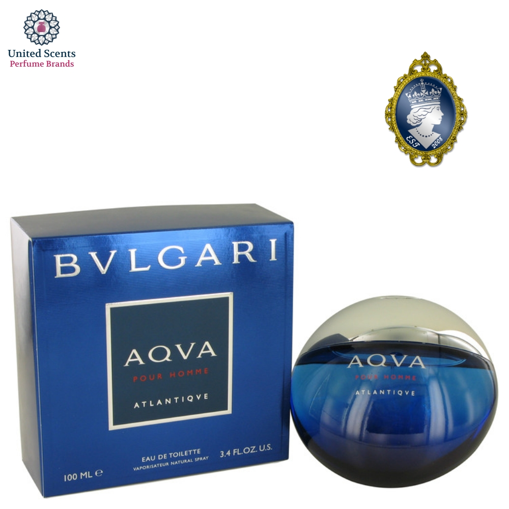 Bvlgari Aqva Man Edt 100ml Aqua Atlantique Pour Homme 34fl Eau De Toilette 34oz Spray For Men