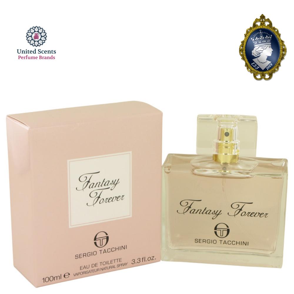 ea5a05791 Sergio Tacchini Fantasy Forever 3.3oz 100ml Eau De Toilette Women Perfume  Spray